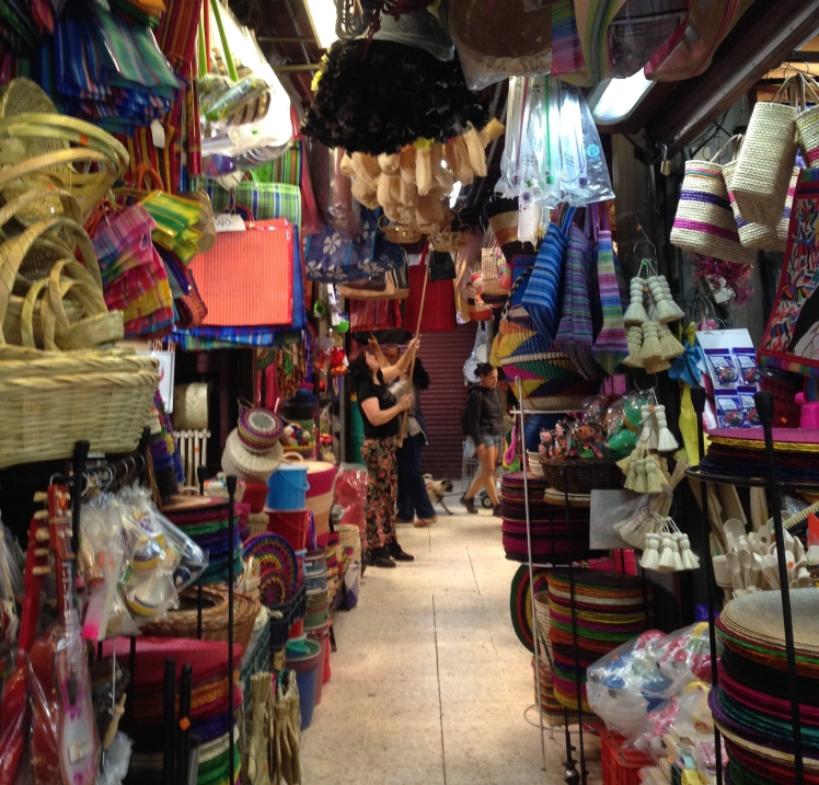 Market in Mexico City